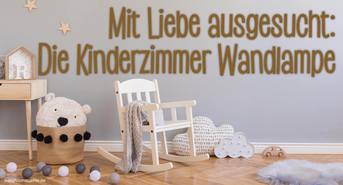 Kinderzimmer Wandlampe