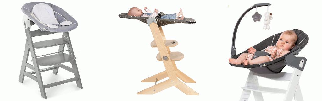 Hochstuhl mit Babyschale